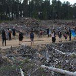 Une marche funèbre réussie pour Mobilisation Matawinie