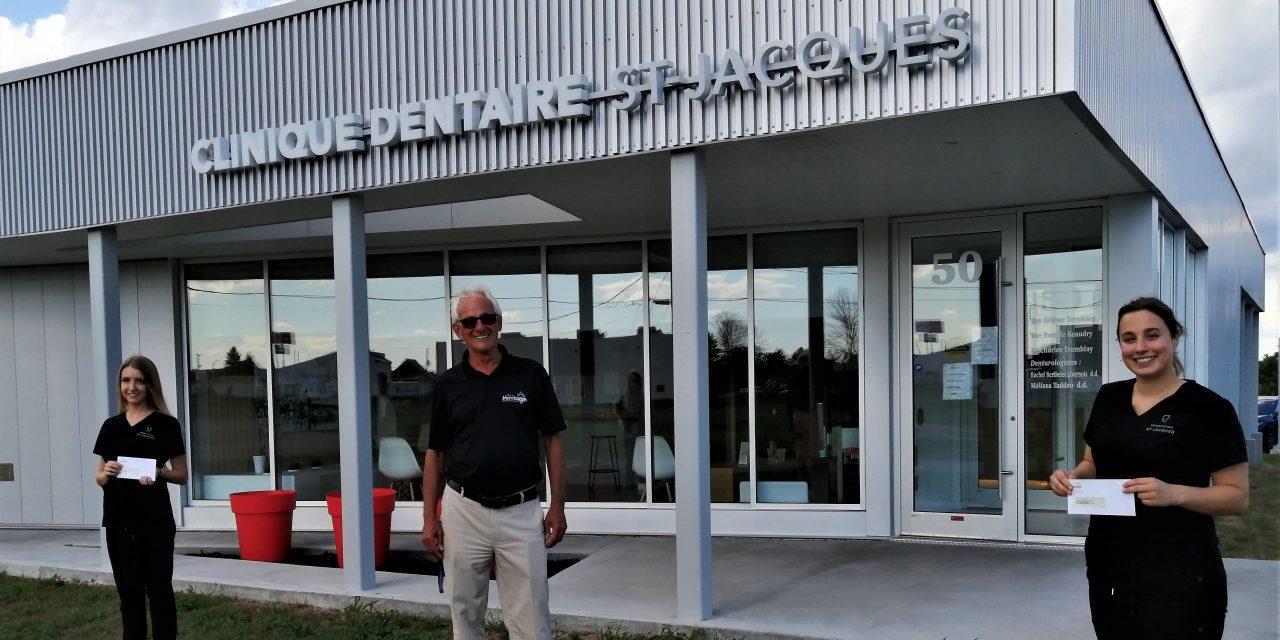 La subvention Jeunes Promoteurs de la MRC de Montcalm pour une nouvelle entreprise spécialisée dans le domaine dentaire et soins prothétiques de Saint-Jacques !