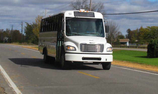 L'autobus du circuit 131-138 de retour sur la route!