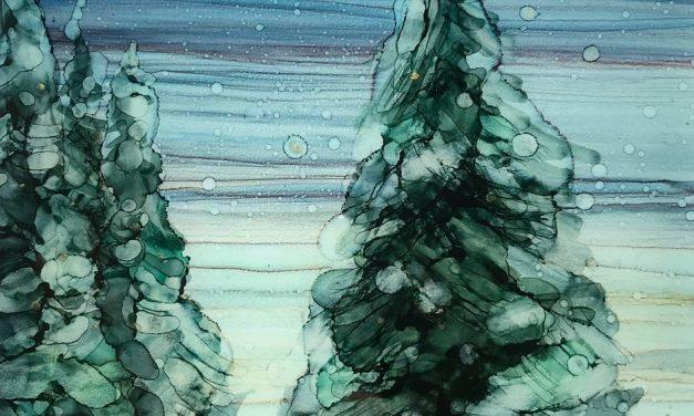 Paysages d'ici », une exposition de peinture de Béatriz Salas, présentée à la Bibliothèque municipale de Lavaltrie