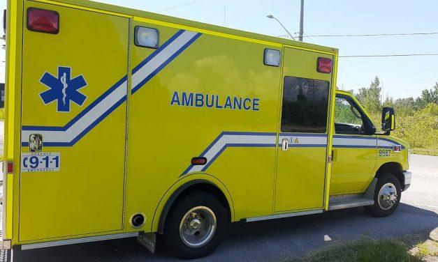 Piéton blessé gravement à Lavaltrie