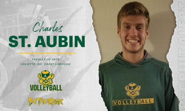 Volleyball : Charles St-Aubin recruté par les Golden Bears de l'Université d'Alberta