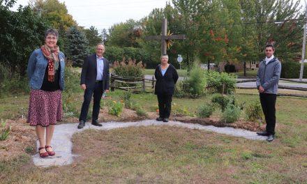 Des jardins thématiques et des platebandes renouvelées à la Maison Rosalie-Cadron