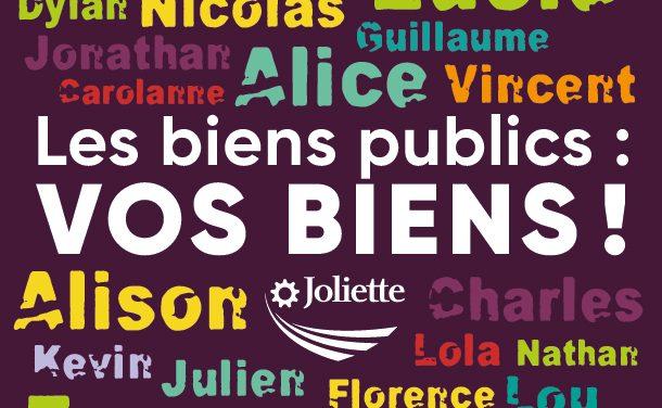 « Les biens publics : vos biens! » : une nouvelle  campagne pour contrer le vandalisme