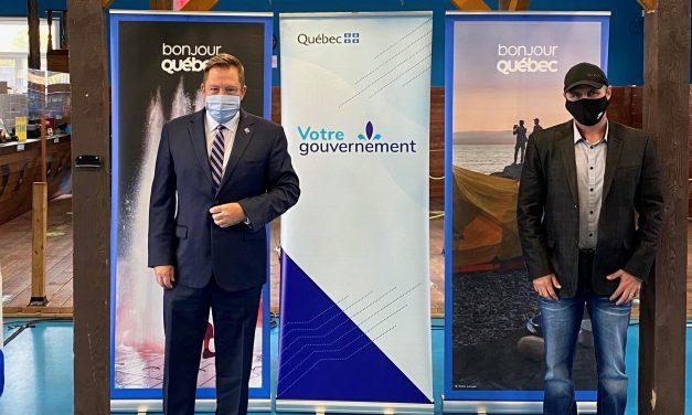 Le gouvernement du Québec investit 2 M$ pour soutenir le tourisme de nature et d'aventure dans la région de Lanaudière
