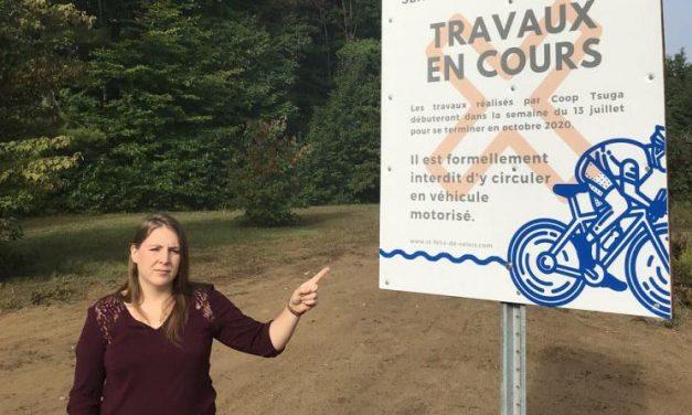 Vandalisme dans les sentiers à Saint-Félix