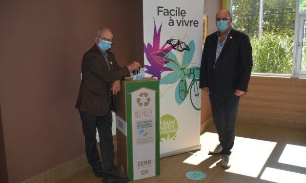 SCB pose un geste concret pour lutter contre la pollution des masques jetables