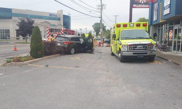 Joliette : deux blessés mineurs dans un accident