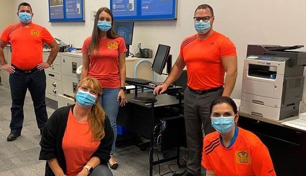 Le groupe BMO de Joliette souligne la Journée du chandail orange