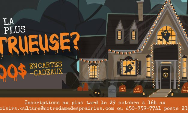 Notre-Dame-des-Prairies se plonge dans l'ambiance de l'Halloween !