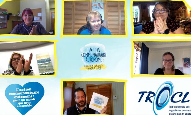 La Semaine nationale de l'action communautaire autonome 2020 :  transformer la société un geste à la fois !