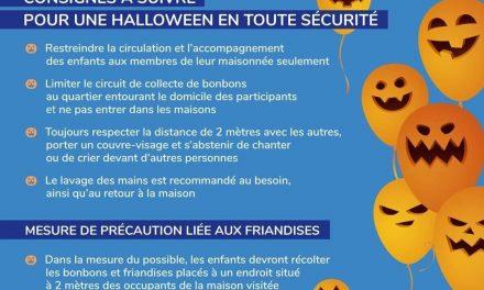 Halloween 2020 – Sainte-Julienne se tourne vers les écoles et les installations en garderie pour assurer une distribution de bonbons sécuritaire pour les jeunes juliennois