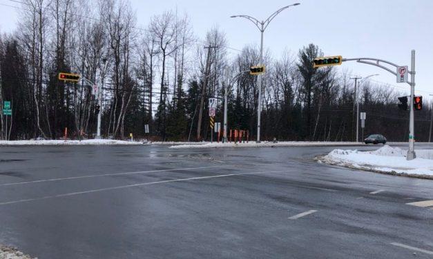 Le chantier de la route 335 et de l'avenue du Marché est complété!