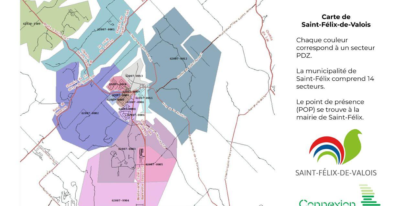 De bonnes nouvelles pour l'accès Internet à Saint-Félix-de-Valois