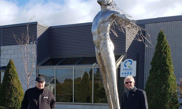 Une troisième sculpture s'ajoute au projet du Parcours d'art en milieu rural