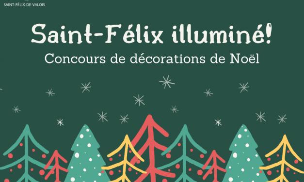 Saint-Félix-de-Valois s'illumine pour Noël!