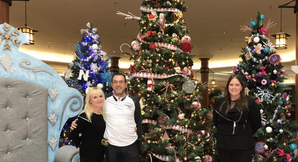 Une rencontre avec le Père Noël aux Galeries Joliette à distance règlementaire et en toute sécurité