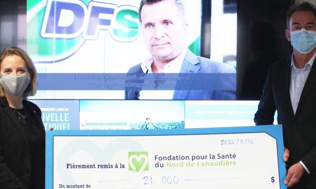 Le Groupe Connexion remet 21 000 $ à la Fondation pour la Santé du Nord de Lanaudière!