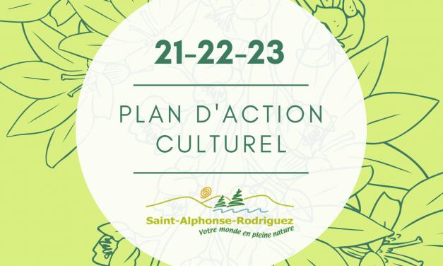 Lancement du Plan d'action culturel