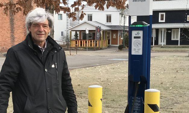 Nouvelles bornes de recharge pour les voitures électriques