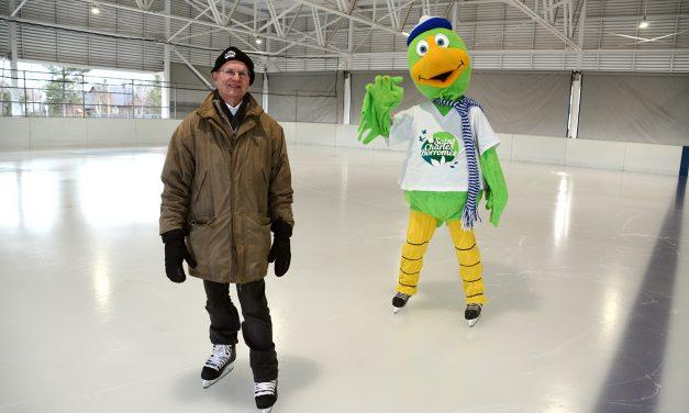 Ouverture de la patinoire réfrigérée du Parc Casavant-Desrochers