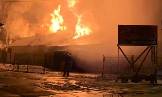 Le Marché Champoux Richelieu de Saint-Zénon ravagé par un incendie