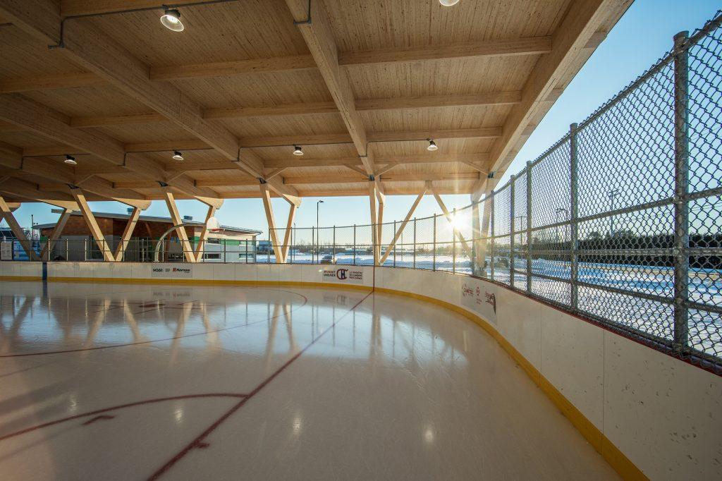 COVID-19 : nouvelles modalités d'utilisation de la patinoire BLEU BLANC BOUGE
