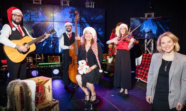 La fondation produit un concert de Noël dédié aux résidents en CHSLD et aux personnes hospitalisées
