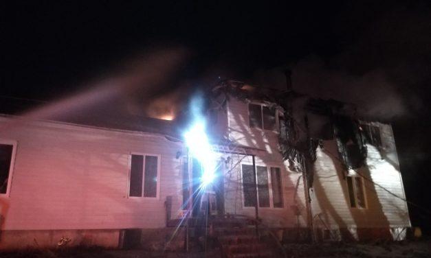 Saint-Gabriel-de-Brandon : quatre pompiers blessés dans un incendie