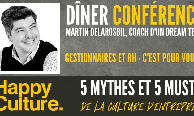 La Chambre de Commerce du Grand Joliette reçoit Martin Delarosbil de Happy Culture