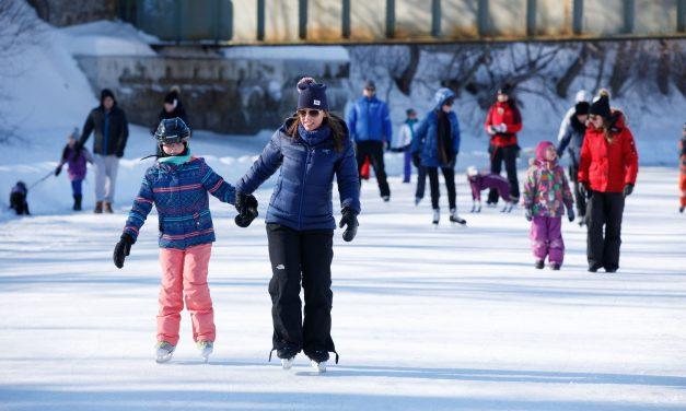 Prolongement de la patinoire sur la rivière L'Assomption