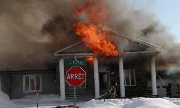 Saint-Alexis : une résidence détruite par un incendie