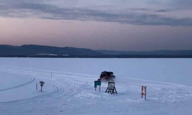 Double sauvetage sur le Lac Maskinongé