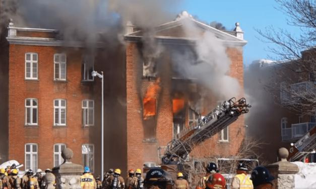 Rawdon : la résidence Sainte-Anne lourdement endommagée par un incendie