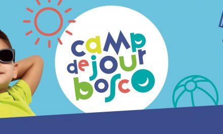 Programmation diversifiée au camp de jour Bosco 2021!