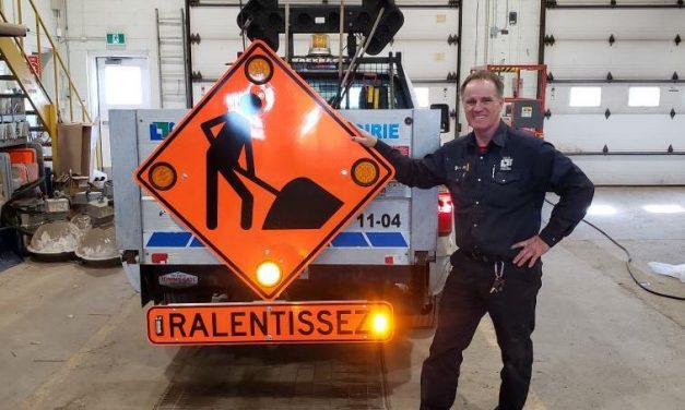 Les employés de la Ville de Lavaltrie font preuve d'innovation pour leur sécurité!