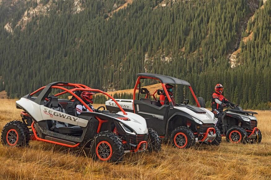Roulez en Segway, les premiers VTT et côte à côte hybrides maintenant disponibles au Québec