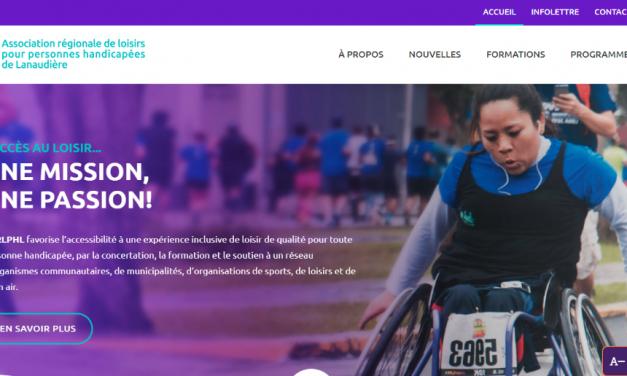 Un nouveau site internet accessible pour l'ARLPHL