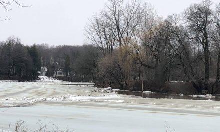 Crue printanière de la rivière L'Assomption : travaux de déglaçage terminés dans le secteur critique