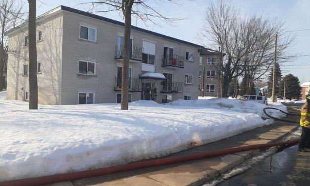 Joliette : début d'incendie dans un immeuble à logements