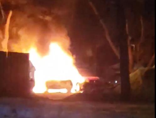 Incendie suspect de véhicules à Joliette