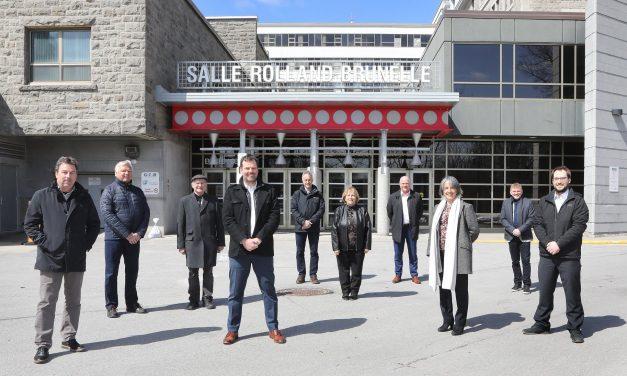 Le Centre culturel Desjardins lance officiellement les travaux du projet de rénovations des espaces de la Salle Rolland-Brunelle
