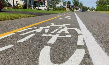 Mobilité active : nouveau marquage de chaussée pour accroître la sécurité et le confort des usagers