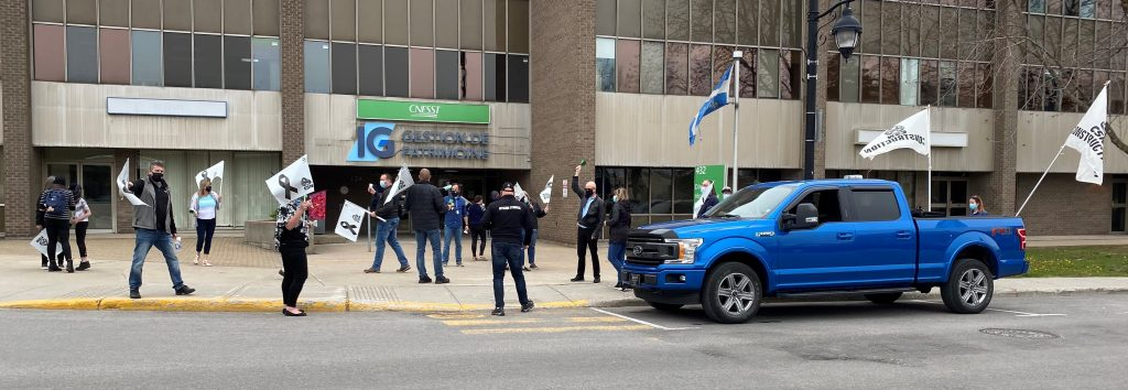 Commémoration du 28 avril : Malgré 173 morts, le gouvernement s'entête à faire reculer le Québec