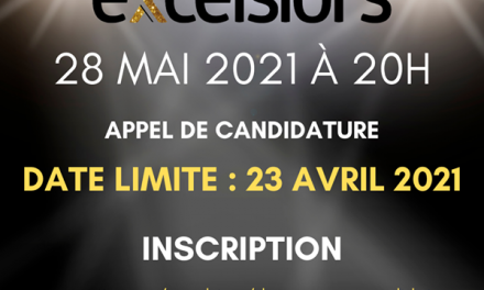 Gala Excelsiors 2021 – La période de mise en candidature, c'est maintenant!