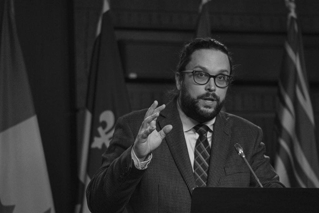 Gabriel Ste-Marie annonce un investissement de plus de 1,2M$ pour les organismes de la circonscription de Joliette