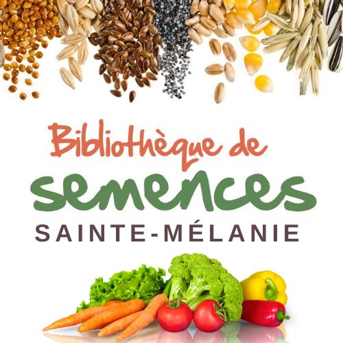 Bibliothèque de semences à partager à Sainte-Mélanie