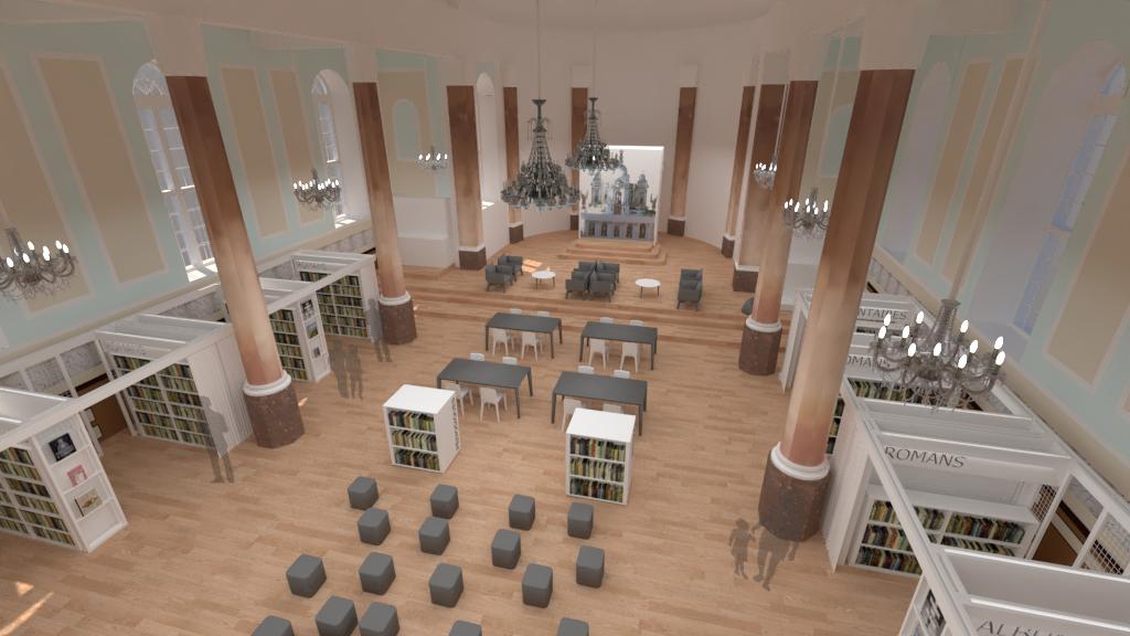 Dévoilement des plans de la bibliothèque et Espace Culturel Jean-Pierre Ferland