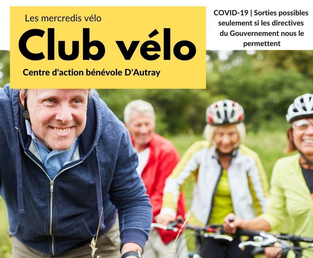 Retour du Club de vélo du CABA