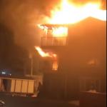 Saint-Jacques : un immeuble à logements endommagé par un incendie